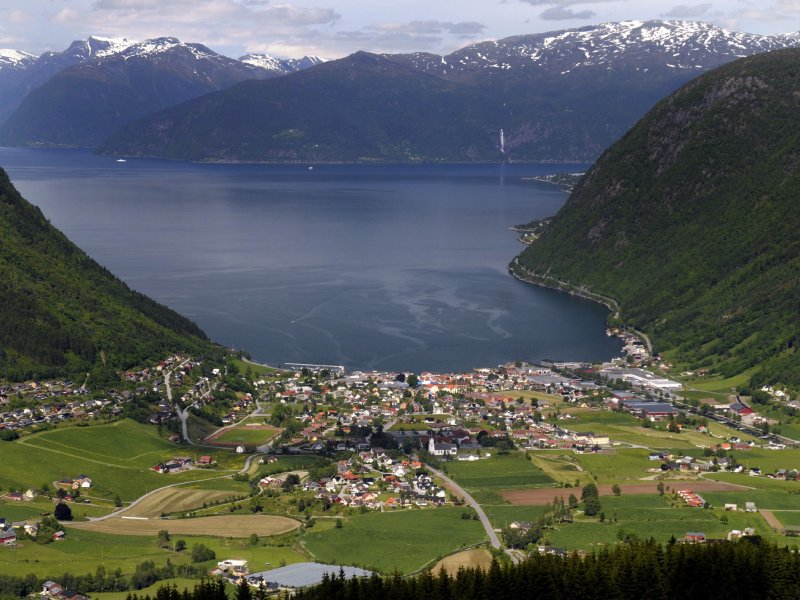 © Lutz Stickeln I Sognefjord-Panorama bei Vik
